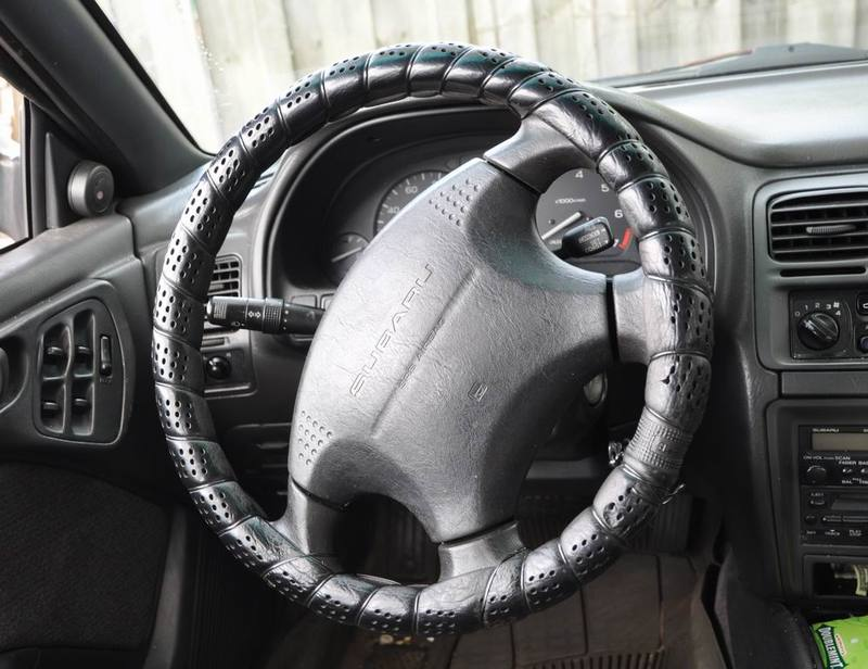 Оплетка на руль алиэкспресс со шнуровкой 2